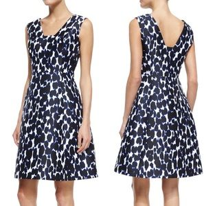 Kate Spade Be Daring Leopard Fit And Flare Dress